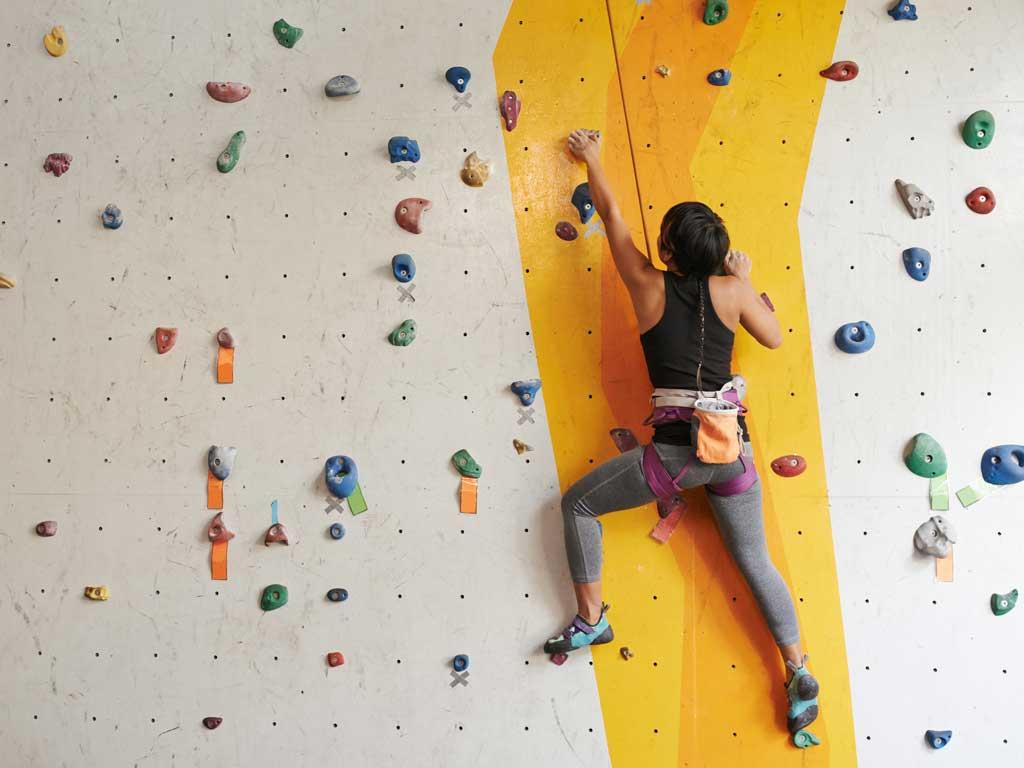 entrenamiento de escalada en casa