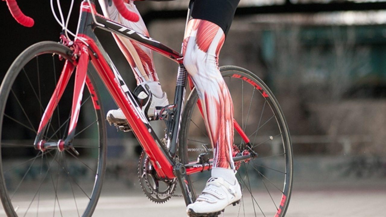 qué músculos trabaja la bicicleta